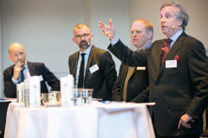 "panel debat  ""Future Foreign Service""I forgrunden Andrew Cooper. Photo credit: Bjarke Ørsted"